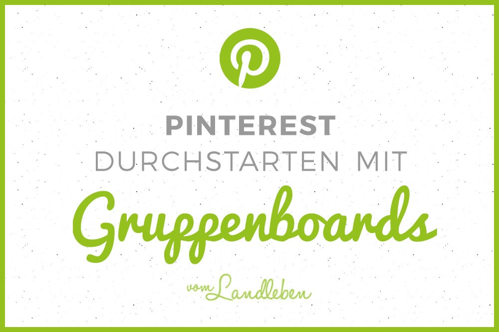Pinterest-Tutorial: Gruppenboards