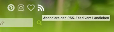RSS-Feed vom Landleben