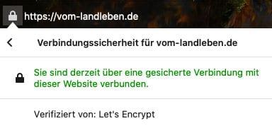 SSL-Zertifikat im Browser