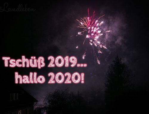 Tschüß 2019 – hallo 2020!