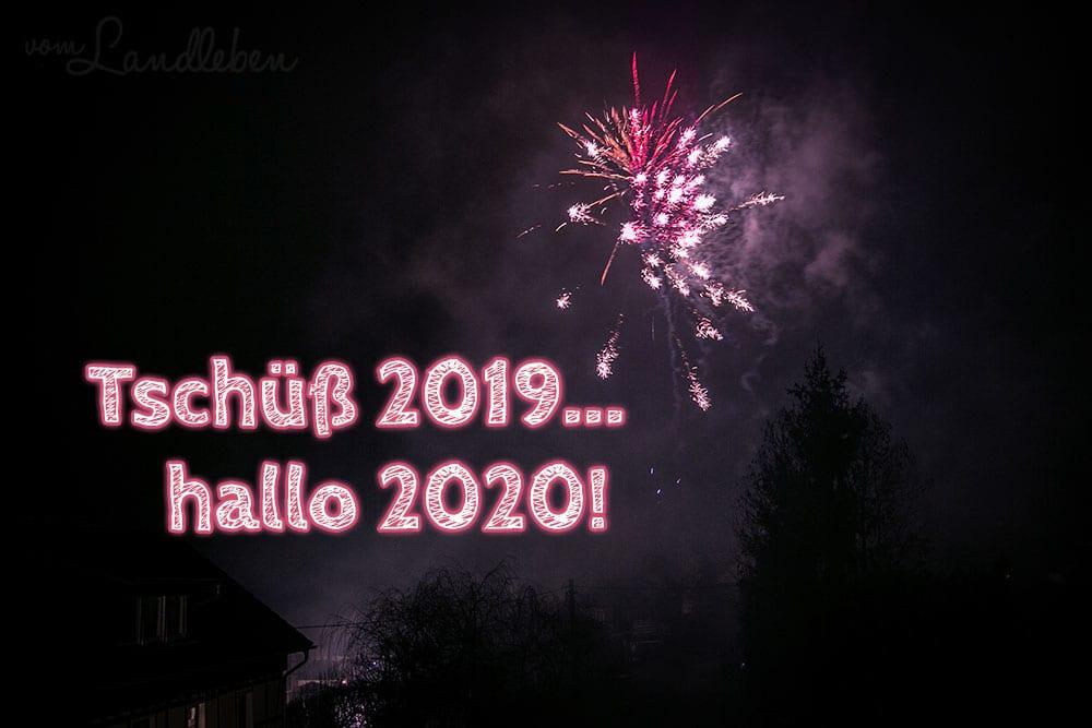 Tschüß 2019... hallo 2020!