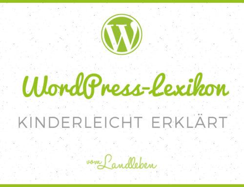 Ein WordPress-Lexikon für Einsteiger