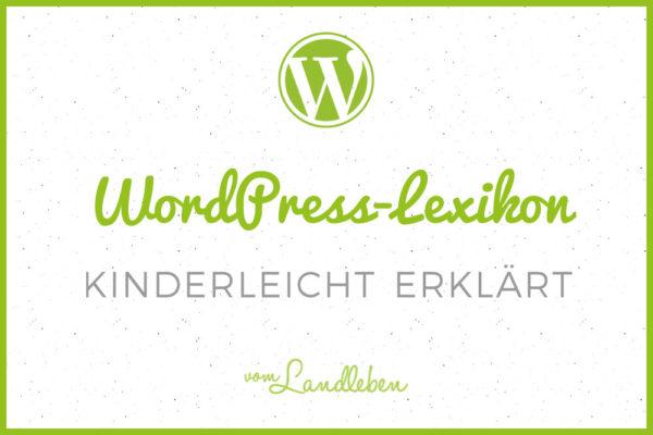 WordPress-Lexikon