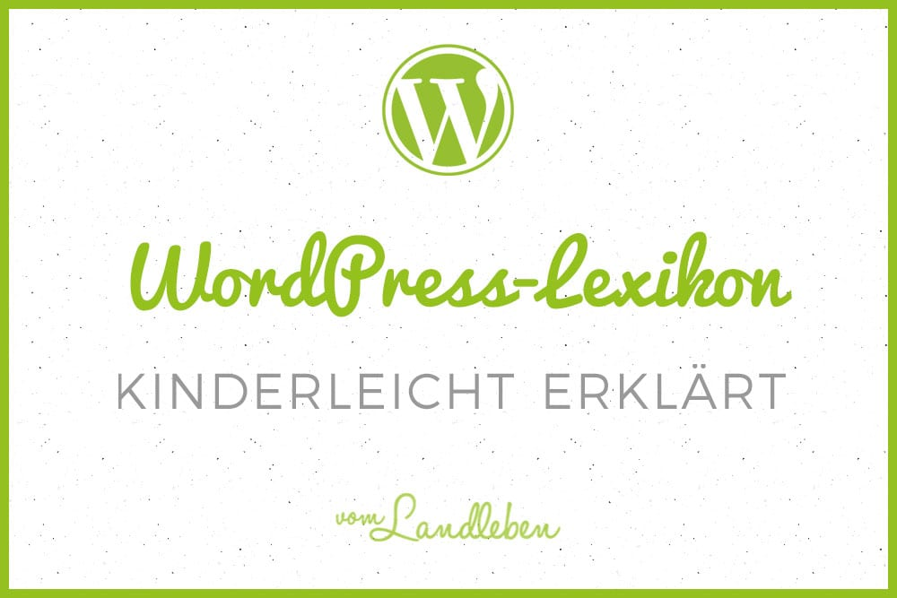 WordPress-Lexikon