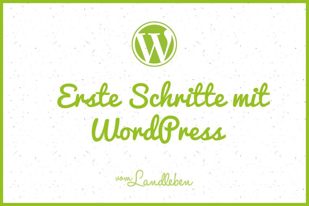 Tutorial: erste Schritte mit WordPress