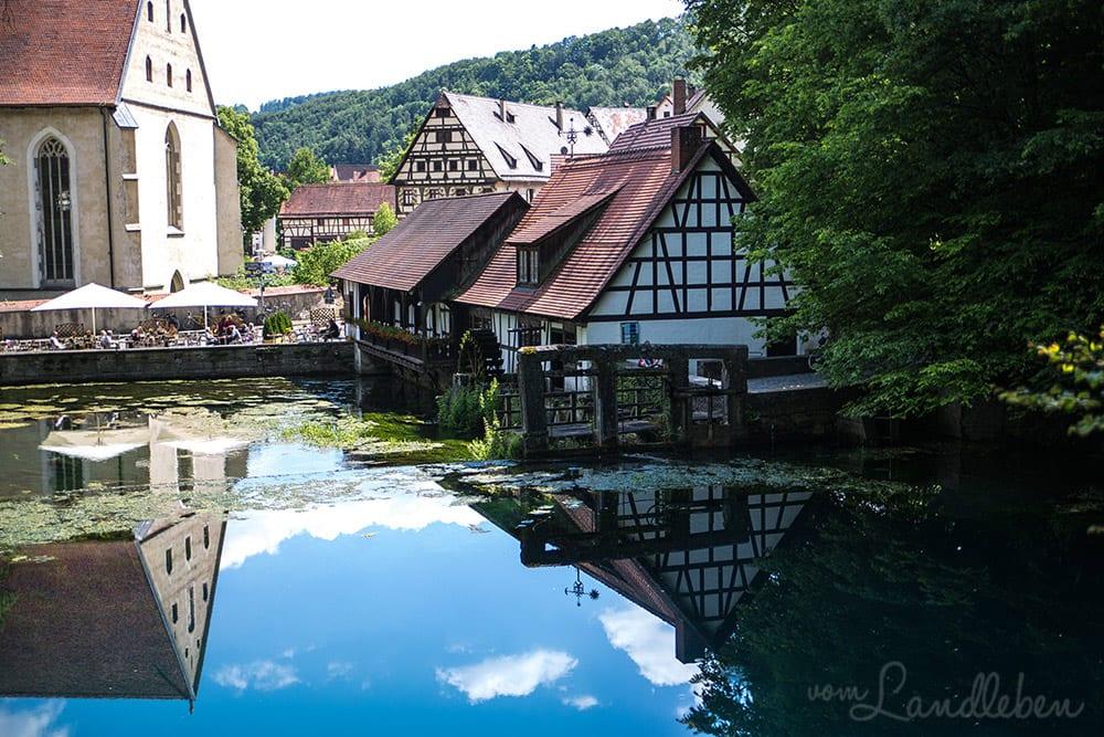 Kloster am Blautopf in Blaubeuren