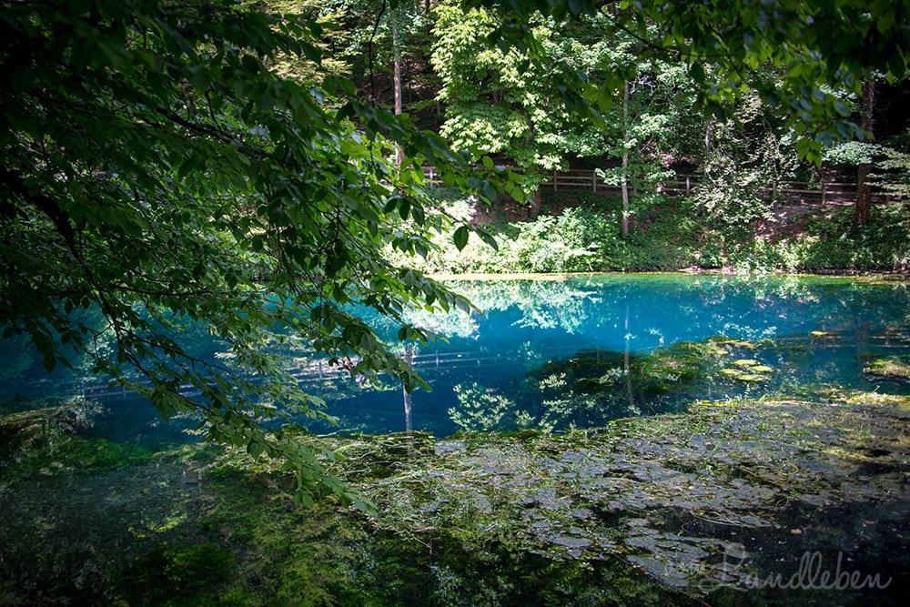 Der Blautopf in Blaubeuren