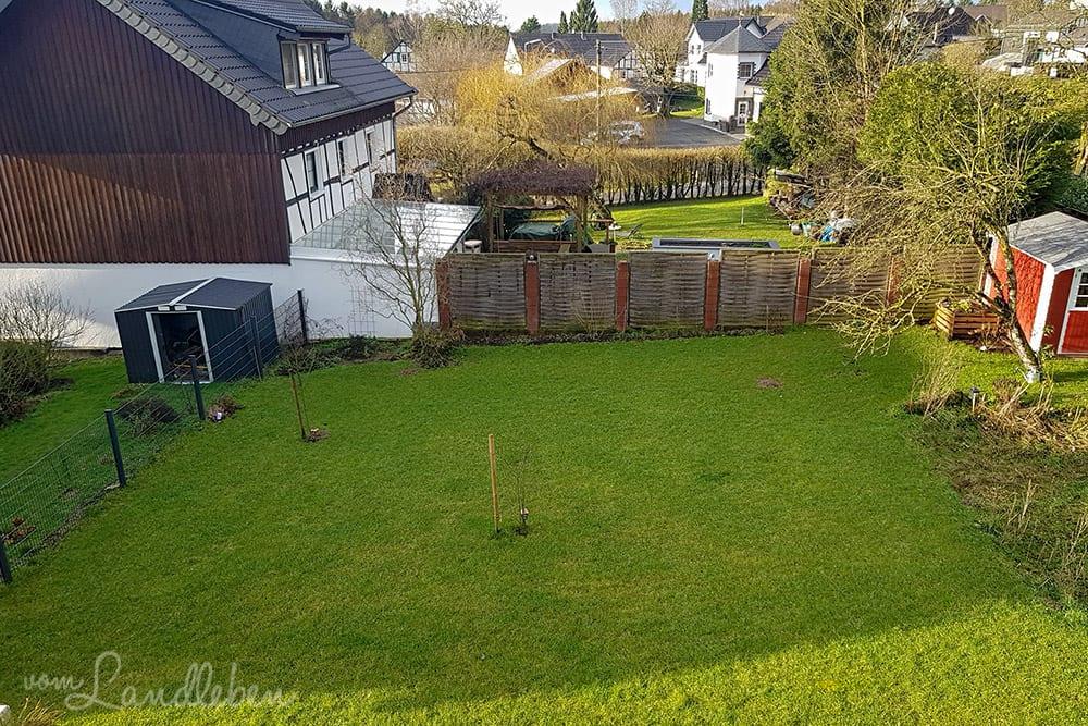 Unser Garten im Januar 2019