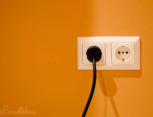 Die Sache mit dem Stromverbrauch