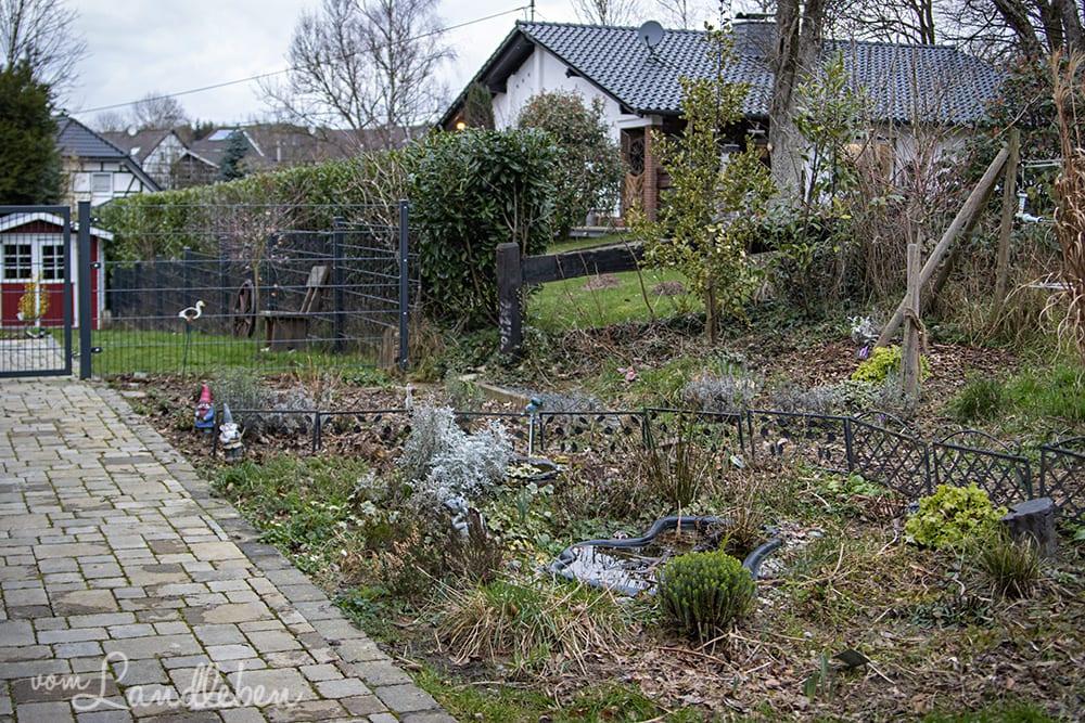 Mittelgarten im Februar 2020