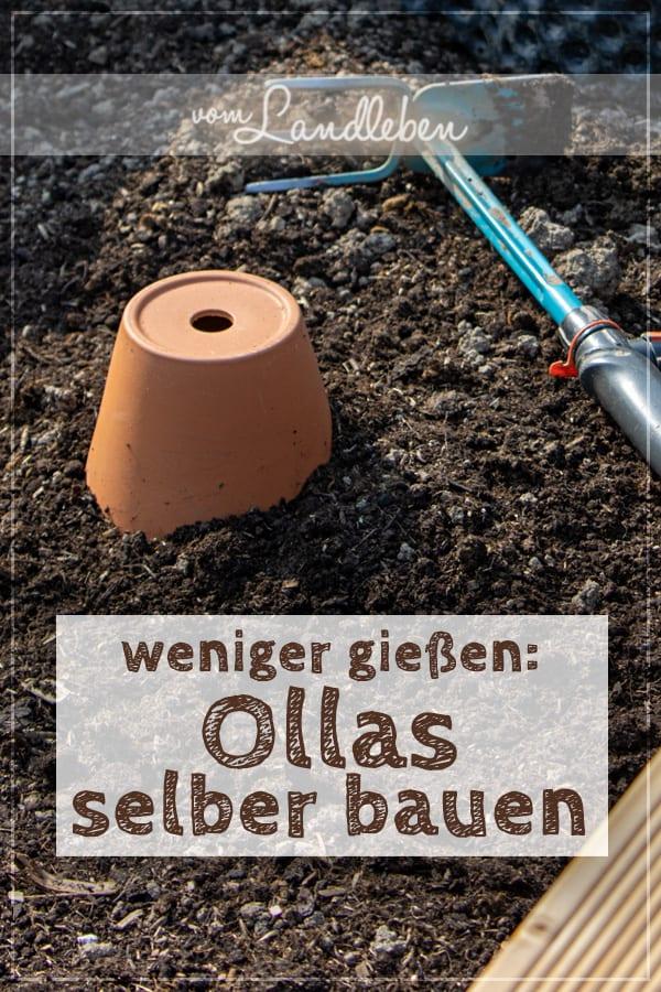 DIY: Ollas selber bauen - clevere Bewässerungshilfe aus Tontöpfen
