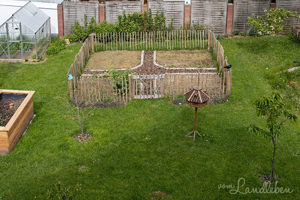 Unser Garten im April 2020