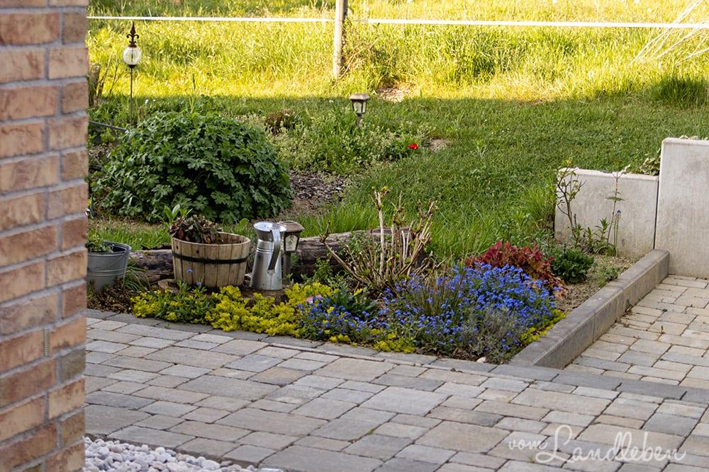 Mittelgarten im April 2020
