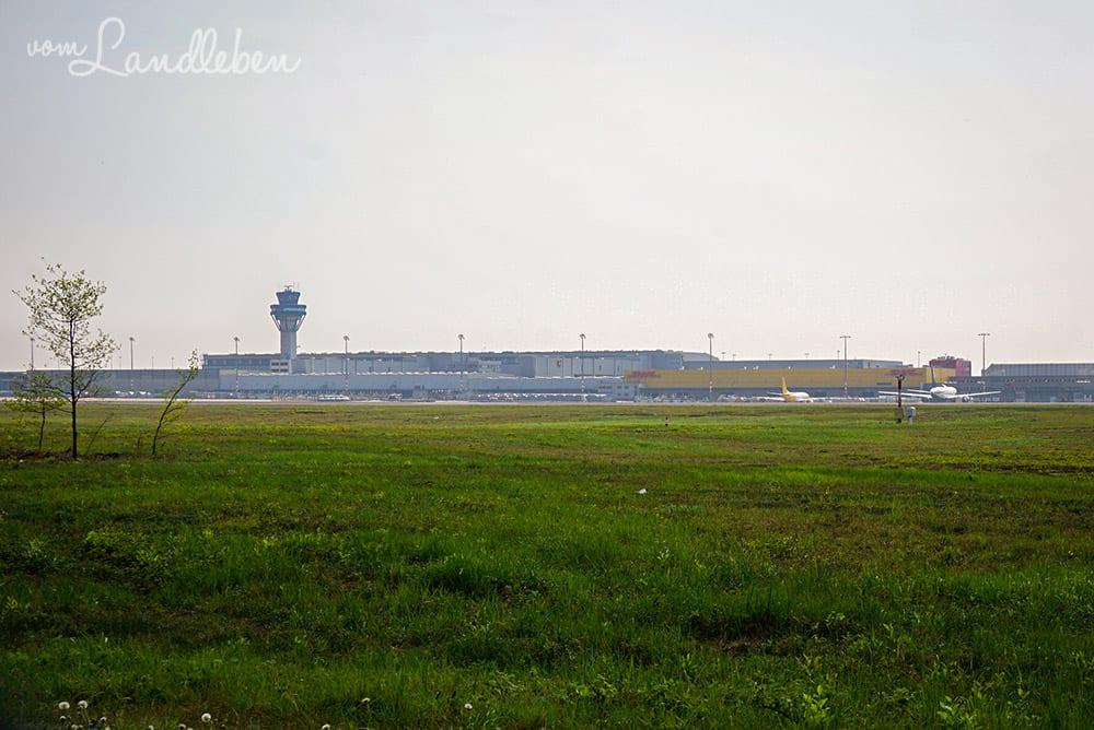 Wandern in der Wahner Heide - Flughafen