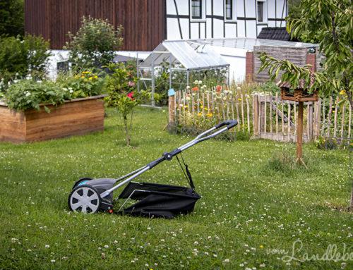 Rasenmähen ohne Motor: wie gut funktioniert das?
