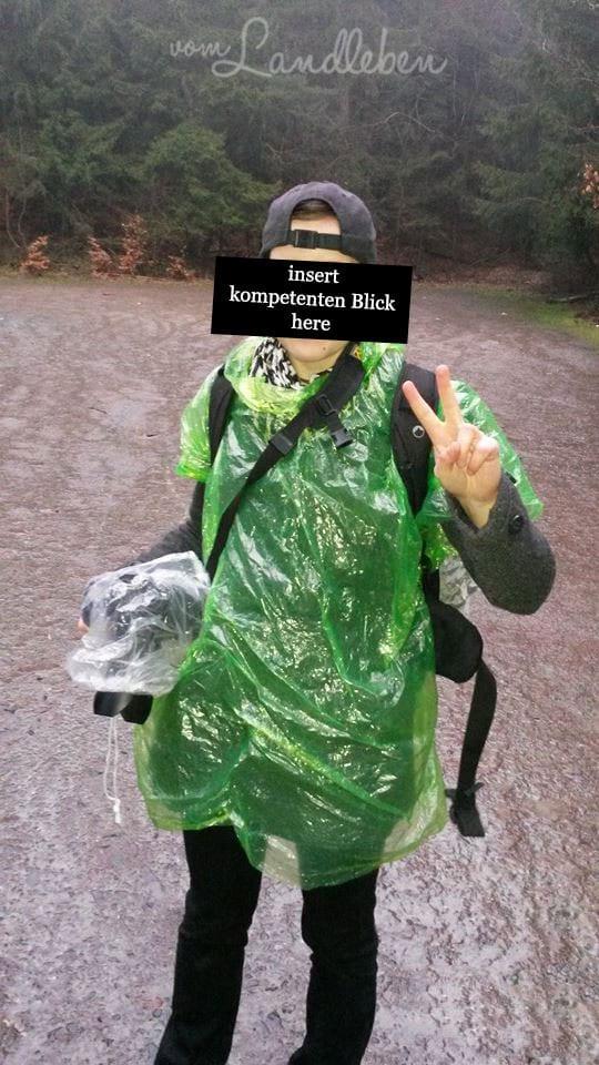 Fotografieren im Regen