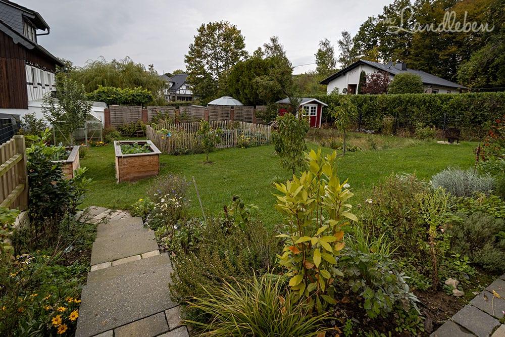 Unser Garten im September 2020