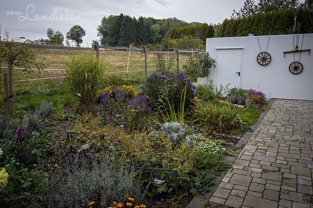 Mittelgarten im September 2020