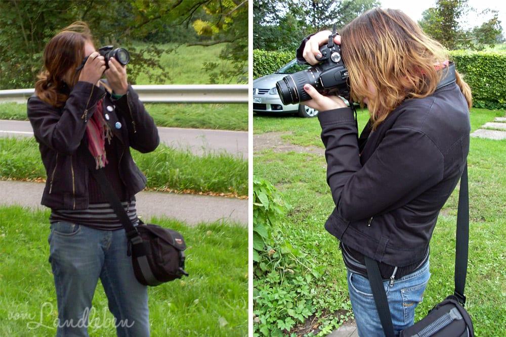Beim Fotografieren fotografiert - September 2008