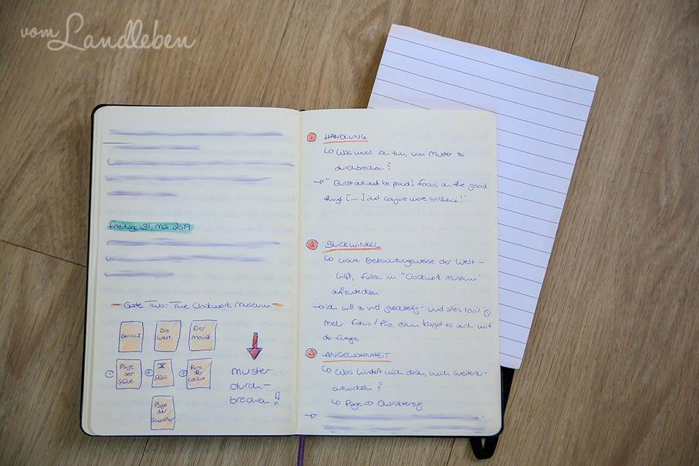 Blanko-Notizbuch von Moleskine