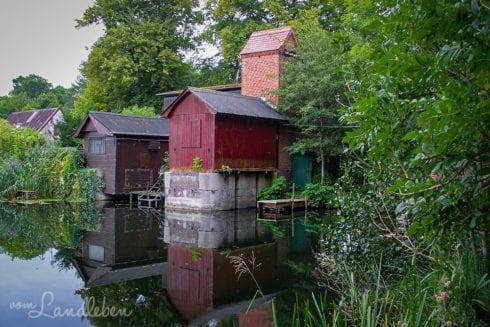 Ehemaliger Eider-Kanal bei der Kluvensieker Schleuse