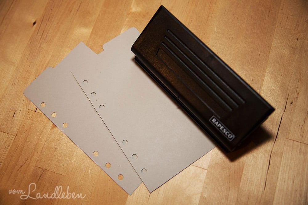 Filofax: DIY - Divider selber basteln