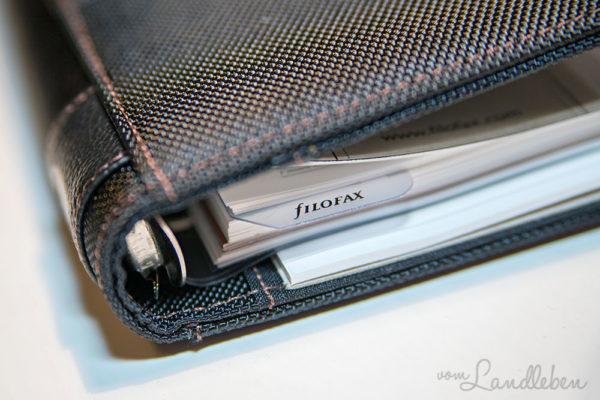 Filofax Fusion Personal schwarz