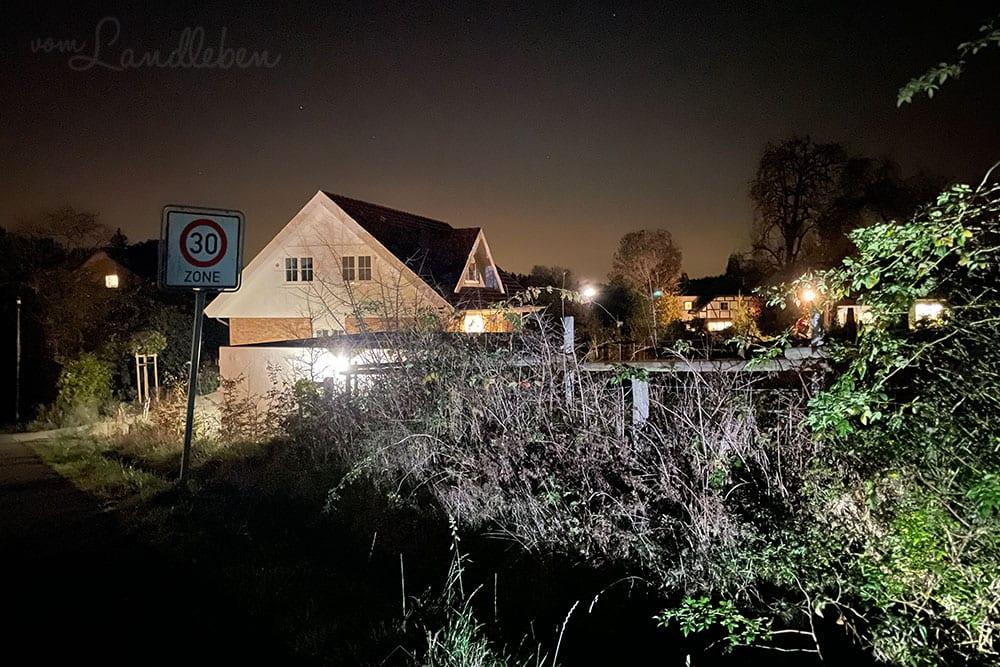 Fotos mit dem iPhone 12 Pro - Nachtmodus