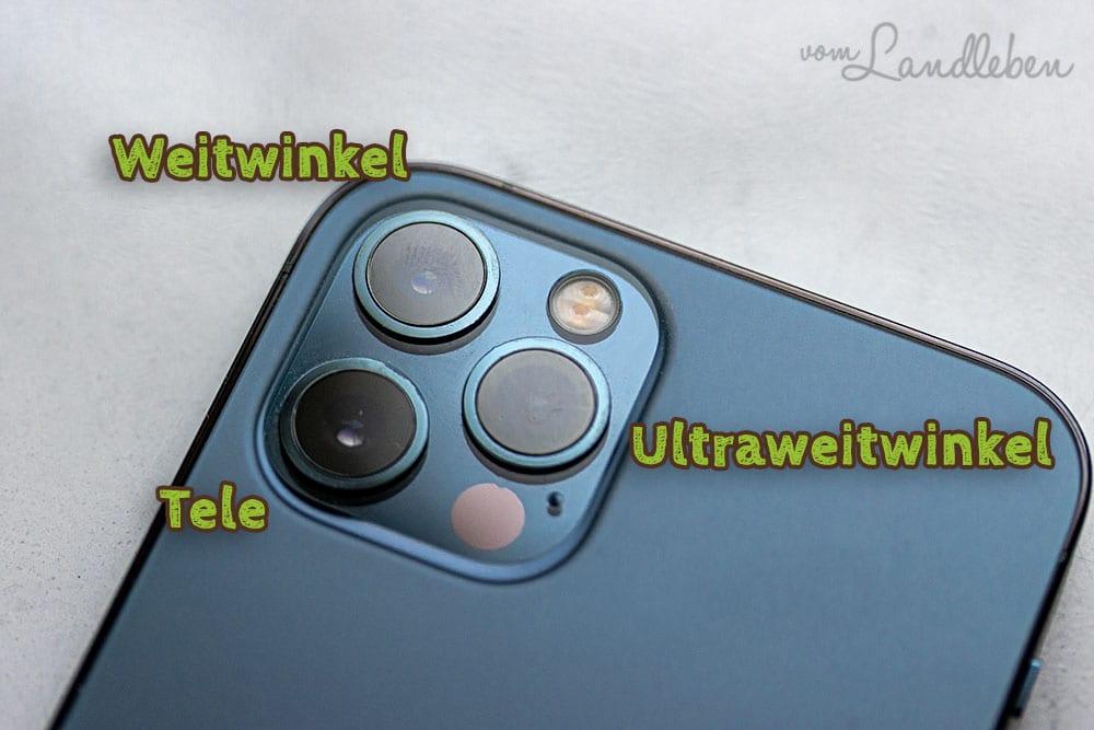 Die Kameras des iPhone 12 Pro