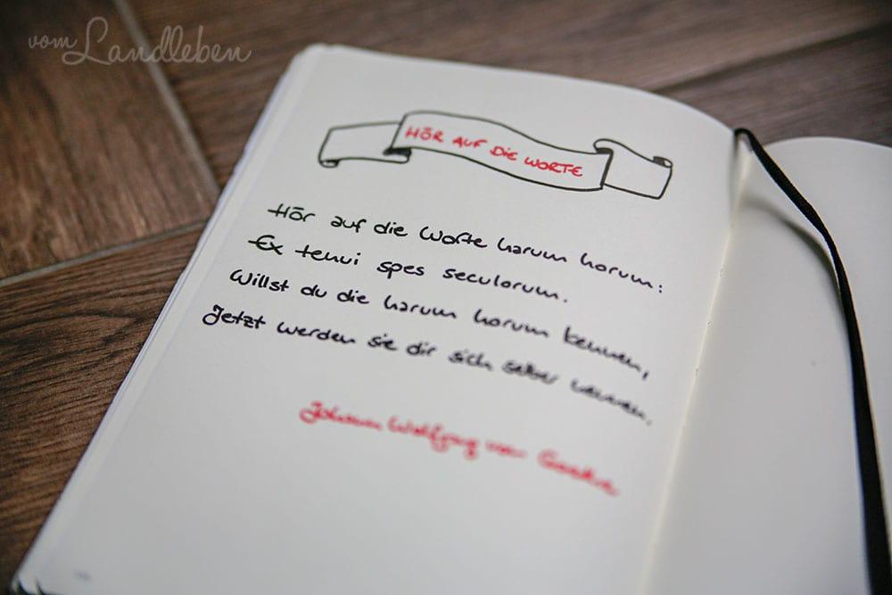 Blanko-Notizbuch