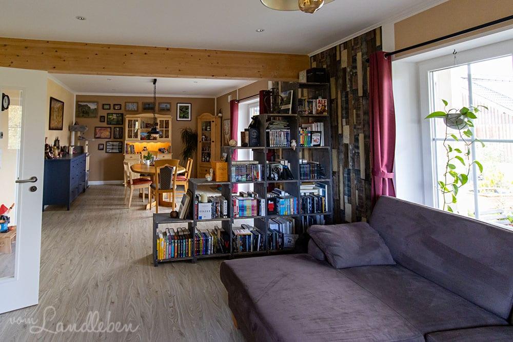 Wohnzimmer-Makeover