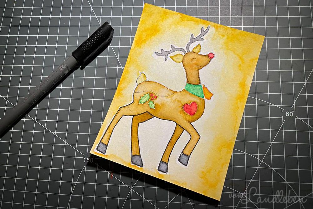 Colorieren mit Ecoline Brushpens