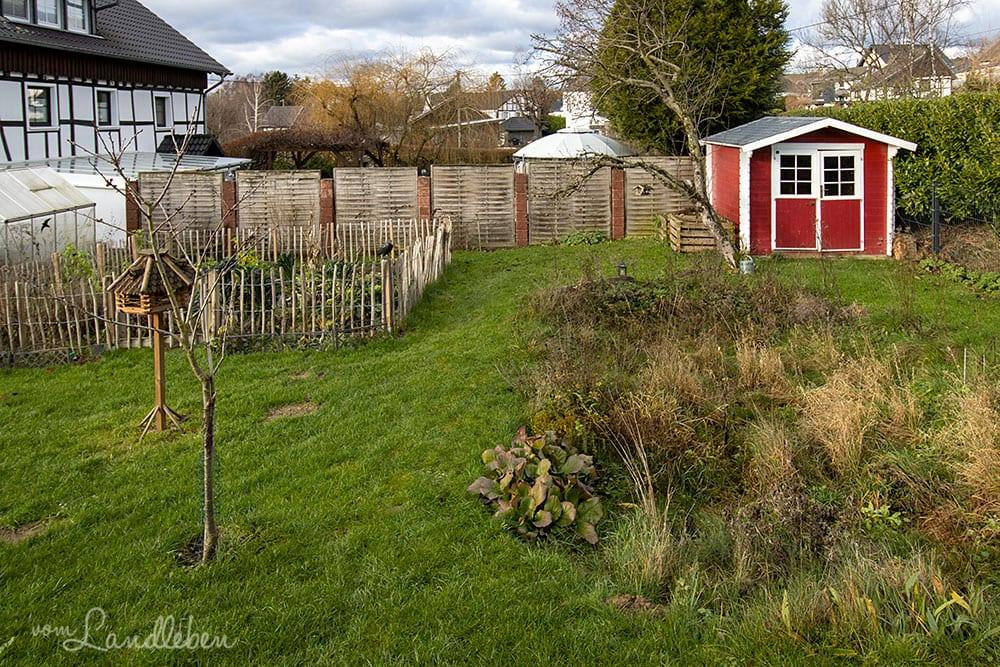 Unser Garten im Dezember 2020