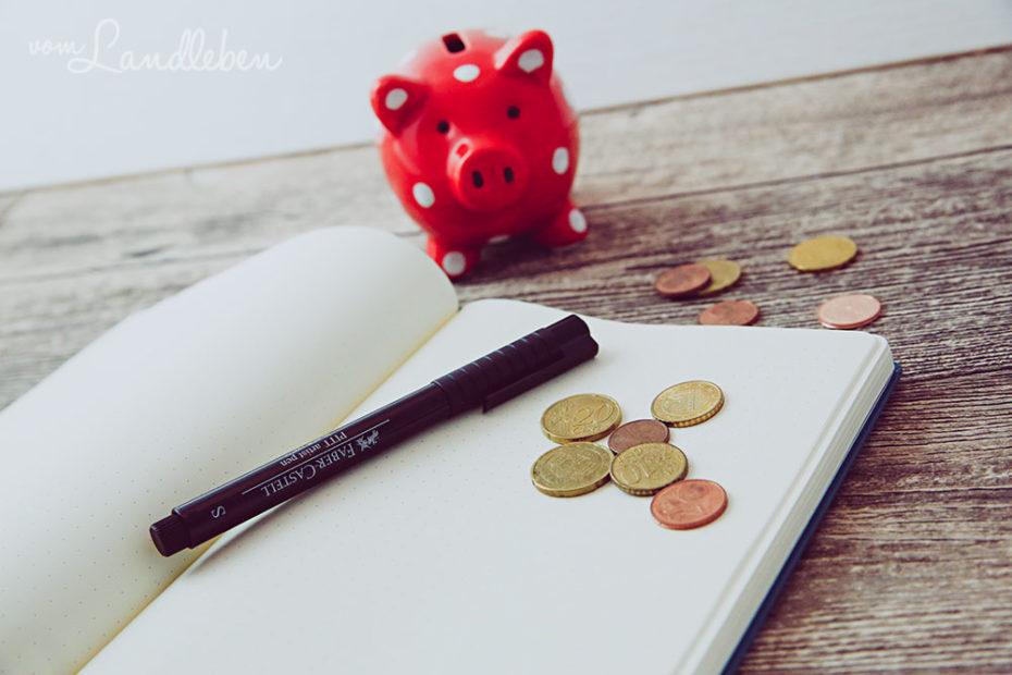 Geld sparen mit dem Bullet Journal