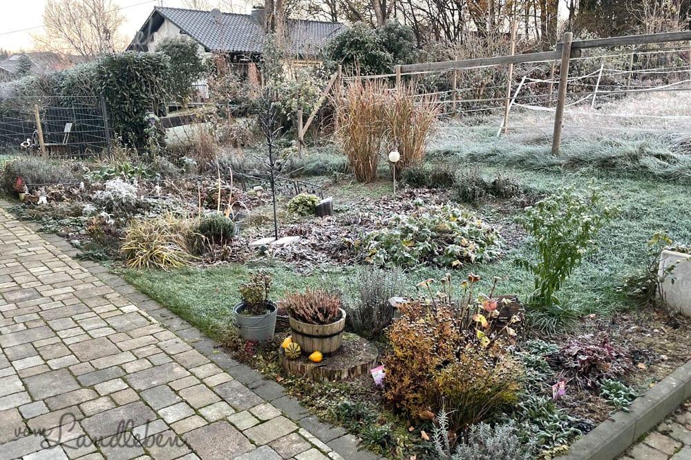 Mittelgarten im November 2020
