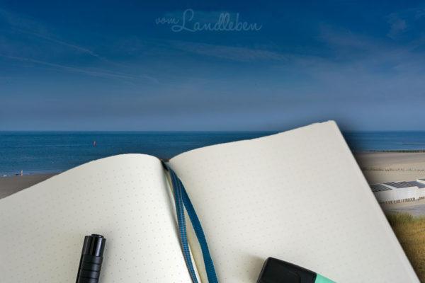 Urlaubsplanung im Bullet Journal