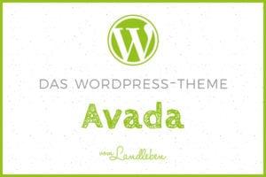 Das WordPress-Theme Avada