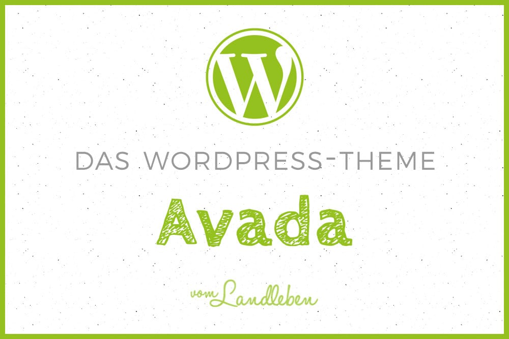Das WordPress-Theme Avada