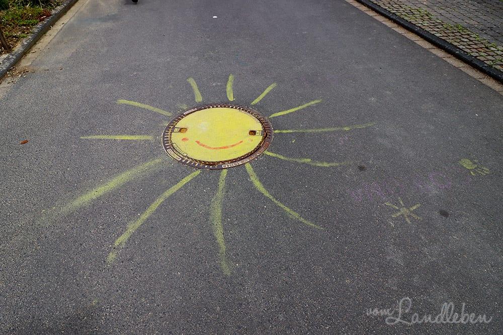 Straßenmalerei in Seelscheid