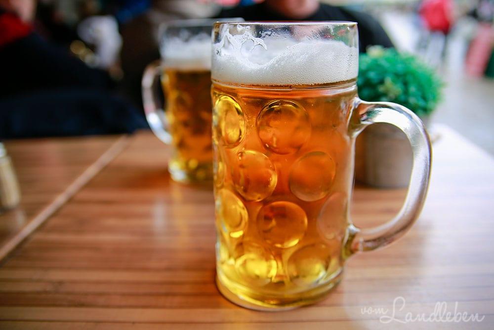 Bier trinken in Brügge
