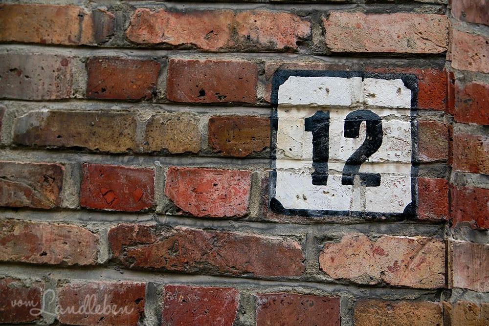 Hausnummern in Brügge