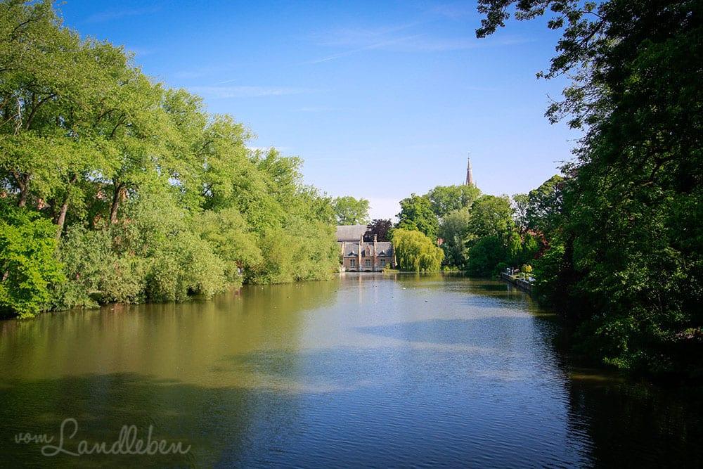 Minnewater in Brügge